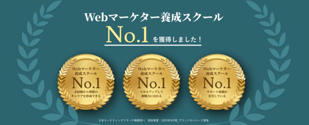 マケキャンbyDMM.com Webマーケター養成スクールNo.1